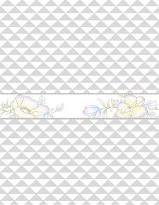 菱形花朵移门图片