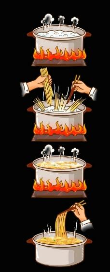 煮面方法图片