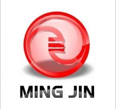 明金辅料标志logo图片