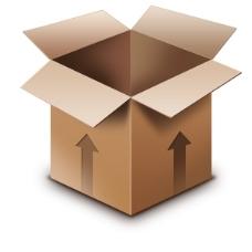 包装纸箱图标psd素材