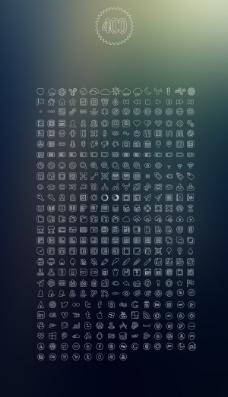 icons图标PSD素材