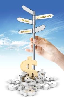 金融投资海报PSD素材