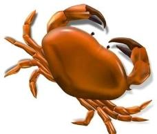 海鲜螃蟹PSD源文件