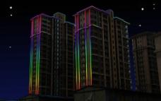 灯光城市图片