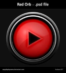开始播放按钮素材psd素材