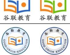 谷联教育logo设计图片