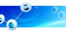 科技元素幻灯模板设计