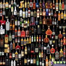 各种白酒红酒洋酒psd素材大集合