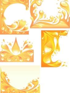 金色水滴图片