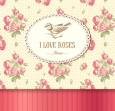 欧式古典花纹背景图片