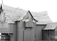 破房子模型