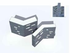 L型大楼建筑