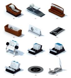 名片盒和文具