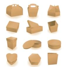 空白纸箱纸盒图片