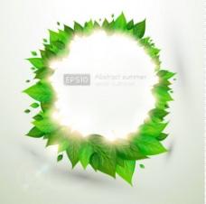 绿色环保广告图片