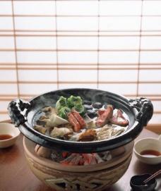 砂锅火锅图片