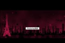 城市夜景ps笔刷图片
