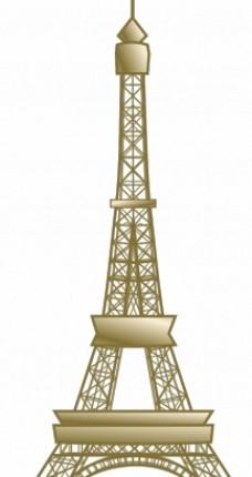 埃菲尔铁塔矢量