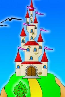 山上的向量的城堡