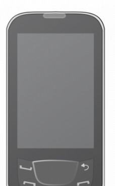 Android智能手机矢量插画