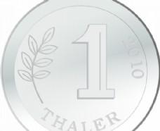 一枚银币向量