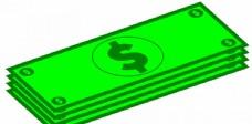 纸币图像矢量