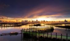 台湾七股湖图片
