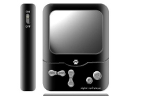 酷黑MP4播放器效果图