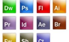 全套Adobe软件图标PSD分层文件