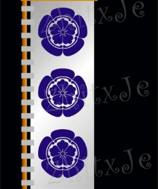 织田信长家纹战国旗帜图片