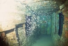 海底世界 海底沉船图片