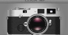 莱卡复古相机psd素材