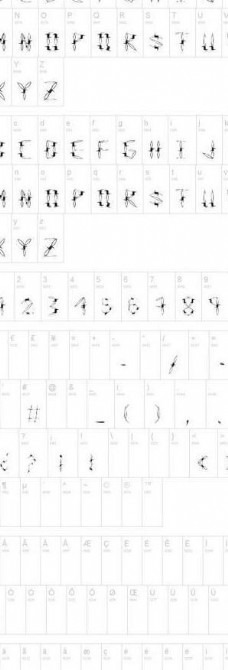 外国字体图片