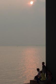 日落夕阳图片