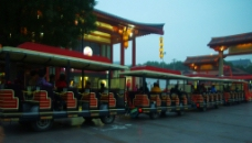 风景名胜浏览列车图片