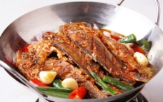 干鍋小黃魚圖片