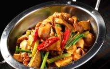 干锅臭豆腐鱼泡图片