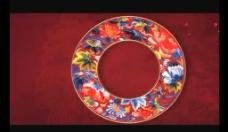 古典花纹视频素材