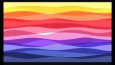 彩色条纹视频素材