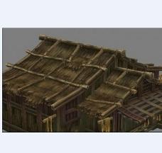 木房子模型