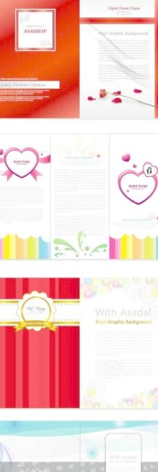 矢量彩色标签贴纸素材_广告设计_矢量图_图行天下图库