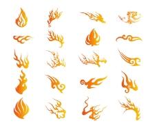 中国风风格火焰