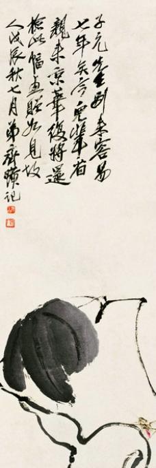白描葫芦图片