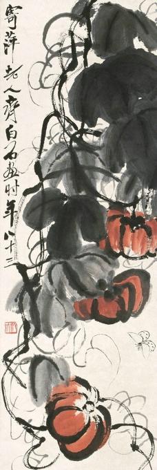 瓜蝶图图片