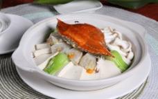 青蟹豆腐煲图片