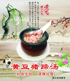 黄豆猪蹄汤图片