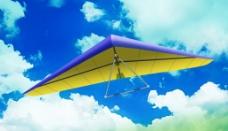 滑翔机分层 空中飞人图片