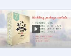 时尚清新温馨婚礼婚纱图片展示