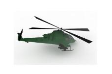 现代直升机模型