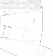 包装盒外形矢量 纸盒矢量 包装盒展开分割图矢量123